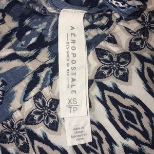 Aeropostale Other - Blue and creme romper